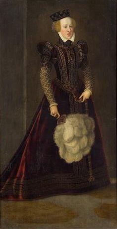 Archduchess Johanna, 1565  (Francesco Terzio) (1523-1591) Kunsthistorisches Museum, Wien,  GG_3997