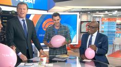 Tuesday on TODAY, the anchors got a lesson from YouTube science guru Nick Uhas about sulfur hexafluoride, a gas that does the opposite of helium when you inhale it: It lowers your voice comically. The results were so uproarious that Uhas returned to TODAY Wednesday, resulting in Carson Daly delivering Pop Start sounding like Darth Vader.