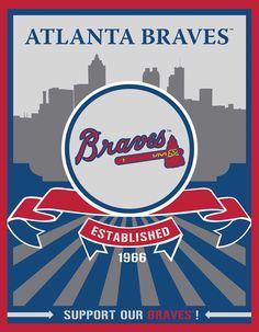 Atlanta Braves Speakman art (Target)