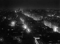 """""""Nocturno"""" by Horacio Coppola Av.de Mayo west Buenos Aires 1936"""