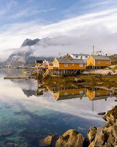 Sakrisoya, Lofoten, Norway