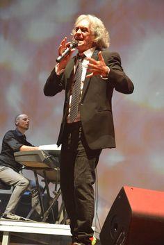 August 14th - Italian great singer Riccardo Fogli @ Piazza Maria Luigia