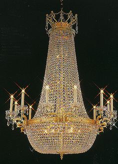 A Splendor Brand crystal chandelier/crystal lamp is made of high quality iron (Non-Rust Processed) and AAA grade crystal.