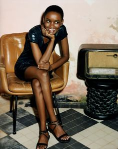 The magical colours of the world: Flaviana Matata - The model, that helps orphaned girls in Tanzania Diesel+EDUN Shoot