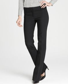 Modern sensibility...good for work pants that i need so desperately