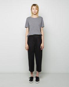 ACNE STUDIOS | Murol Raw Trouser | Shop at La Garçonne