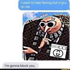 Grucci Gang - Funny Offensive Memes - - Grucci Gang Funny Offensive Memes Grucci Gang The post Grucci Gang appeared first on Gag Dad. The post Grucci Gang appeared first on Gag Dad. Really Funny Memes, Stupid Funny Memes, Funny Relatable Memes, Haha Funny, Funny Cute, Funny Texts, Hilarious, Weed Funny, Memes Humor