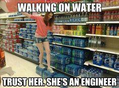 Walking on water!!!! any questions??? #civilengineering #engineering