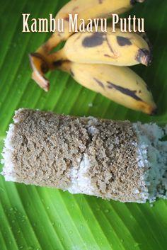 YUMMY TUMMY: Kambu Maavu Puttu Recipe - Pearl Millet Puttu Recipe