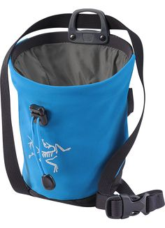ARC'TERYX is a high performance outdoor equipment company known for leading innovations in climbing, skiing and alpine technologies Skiing, Diaper Bag, Climbing Chalk, Rock Climbing, Backpacks, Blue, Stuff To Buy, Outdoor, Shopping