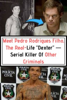 """Known as Pedrinho Matador, Pedro Rodrigues Filho isn't exactly Dexter, but he is a serial killer who killed other criminals, making him one of the """"nicer"""" serial killers. Weird Facts, Fun Facts, Photography Tags, Intresting Facts, Best Motivational Quotes, Beautiful Places To Visit, Serial Killers, Dexter, Mind Blown"""