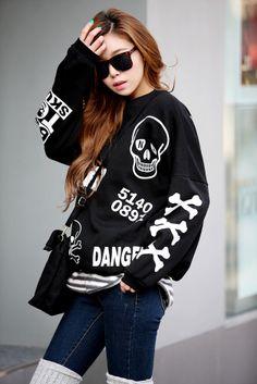 Danger Skull Top