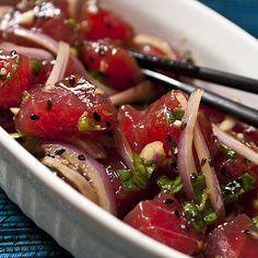 Poke from Hawaii: Tuna Tartare with an Asian twist!