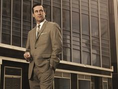 Don Draper (Jon Hamm), serie Mad Men. Joan Holloway, Robert Conrad, Beastie Boys, Eindhoven, Mad Men Quotes, Mad Men Don Draper, Reality Shows, Men Tv, Revival Clothing