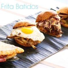 Taste of Ann Arbor judge MegGoesNomNom named the Frita Batidos pulled pork sandwich as her favorite item of the day. What was your favorite??