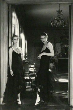 Lee Miller and Marion Morehouse 1929  Photographer Cecil Beaton