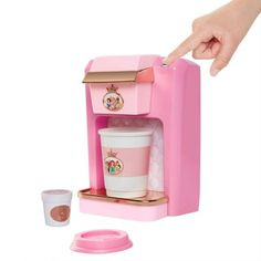 Shop Disney Princess Style Collection Play Gourmet Coffee Maker at Best Buy. Find low everyday prices and buy online for delivery or in-store pick-up. Little Girl Toys, Toys For Girls, Kids Toys, Elliev Toys, Buy Toys, Disney Princess Toys, Disney Toys, Disney Princesses, Ice Cream Set