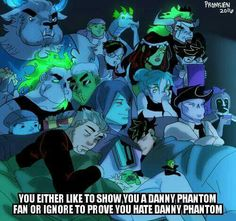 This is for People who are Fans of Danny Phantom and want it back if you don't ignore it