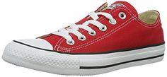 Oferta: 69.8€ Dto: -50%. Comprar Ofertas de Converse Chuck Tailor All Star M9166C Zapatos de lona, Unisex, Rojo, 36 barato. ¡Mira las ofertas!