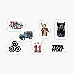 Teen Wolf, Vinyl Decals, Tumbler, Drawings, Poster, Flasks, Phone Case, Laptops, Jackson