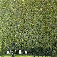 The Park by Gustav Klimt, 1909-10