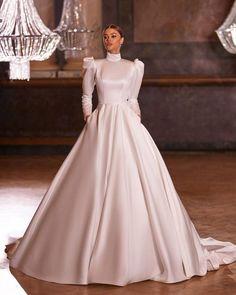 33 Cute Modest Wedding Dresses To Inspire ❤ modest wedding dresses ball gown with sleeves simple milla nova #weddingforward #wedding #bride #weddingoutfit #bridaloutfit #weddinggown