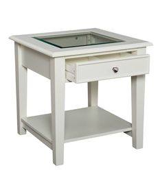 Look at this Panorama End Table on #zulily today!