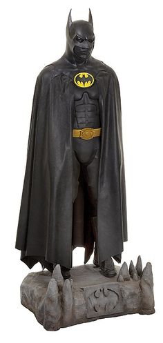 "Michael Keaton screen-used ""Batman"" suit from Batman Returns."