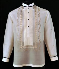 Mandarin Collar Tuxedo Shirt Barong Tagalog The tuxedo shirt barong tagalog offers some stylish accent to your formal attire. Is the perfect way to liven up the traditional barong tagalog while retaining the highest standard of elegance. Formal Attire Women Business, Formal Attire For Men, Business Formal, Men Formal, Wedding Vows, Wedding Suits, Wedding Groom, Wedding Ideas, Trendy Wedding
