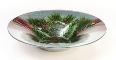 Holiday Gifts : Holly Berry Bowl