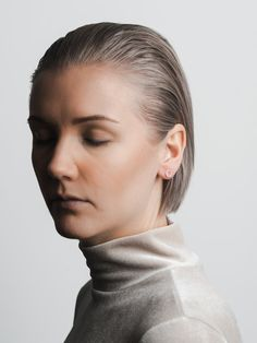 Circle earrings by Signed Studio. Available at www.uumarket.fi - UU Market: Home of New Finnish Design.