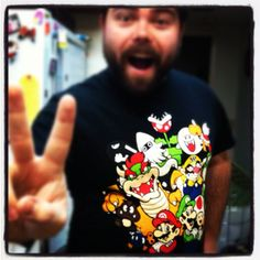 Nerd shirt February day eighteen #nerduary Super Mario World