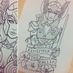 121 Likes, 7 Kommentare – Sam Phillips ( … - diy tattoo project Half Sleeve Tattoos Drawings, Cool Half Sleeve Tattoos, Half Sleeve Tattoos Designs, Tattoo Designs, Sleeve Designs, Half Sleeve Tattoo Template, Tattoo Templates, Norse Tattoo, Viking Tattoos
