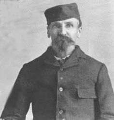Alferd Packer was an American gold prospector and convicted cannibal. On February 9th 1874, he left with 5 others for an expedition in the Colorado mountains. Two months later Packer returned from the expedition alone