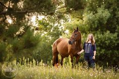 Equestrian Senior Portraits of Keara and her Horse. _______________________________ Timeless Equestrian Photography by Shelley Paulson http://www.shelleypaulson.com