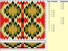 32 tarjetas, 5 colores, secuencia 4F-4B, seddiseñado en GTT ༺❁