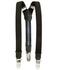 Nautica Boys' Solid Suspenders - Ring Bearer Outfits - SLP - Macy's