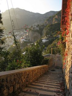 Nocelle Stairs Italy