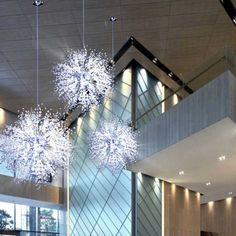 Living room bedroom sky star pendant light home decorative lamp stairs corridor creative personality modern villa lamp Metal Ceiling Lighting, Crystal Pendant Lighting, Ceiling Pendant Lights, Pendant Lighting Dining Room, Chandelier In Living Room, Contemporary Chandelier, Chandelier, Bedroom Ceiling Light, Ceiling Lights
