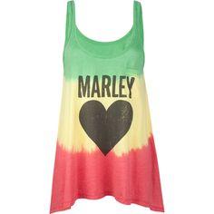 c6148b8eb8 Billabong x Bob Marley Sun is Shining tank Must have this Bob Marley,  Hippie Style