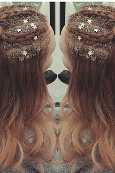 Glitter Roots Hair Trend - Music Festival Hairstyles   Teen Vogue