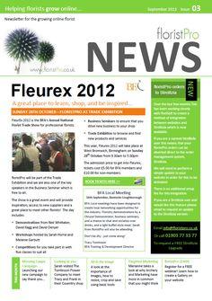 September 12 floristPro News