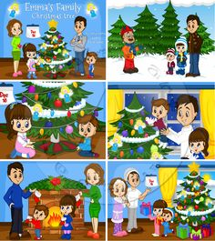 Children ebook illustration by aleqsa Speech Language Therapy, Speech And Language, Speech Therapy, Simple Christmas, Christmas Diy, Xmas, Holiday, Sequence Of Events, Critical Thinking