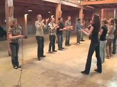 Barn Dance-Virginia Reel.mov - YouTube - This would be such a blast to do with a group party for Pioneer day