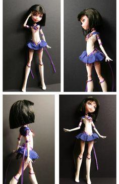 Custom Sailor Saturn Doll by Azure-and-Copper.deviantart.com on @deviantART