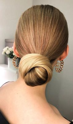 Gorgeous & Super-Chic Hairstyle That's Breathtaking - braided updo hairstyle,simple updo,low bun wedding hair,fishtail braid updo, messy updo bridal hair - Rock Hairstyles, Braided Hairstyles Updo, Braided Updo, Messy Updo, Wedding Hairstyles, Fishtail Bun, Low Chignon, Bun Updo, Low Bun Wedding Hair