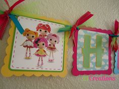 Lalaloopsy Birthday Banner by 21Creations on Etsy, $25.00