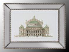 John Richard Paris Opera House II Painting