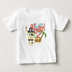SpongeBob -  Ahoy! Baby T-Shirt - tap to personalize and get yours