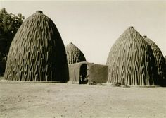 Mud House Design in Cameroon.